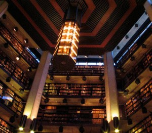 Thomas Fisher Rare Book LIbrary at the University of Toronto.